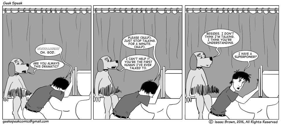 Geek Speaking of Regurgitating Comics