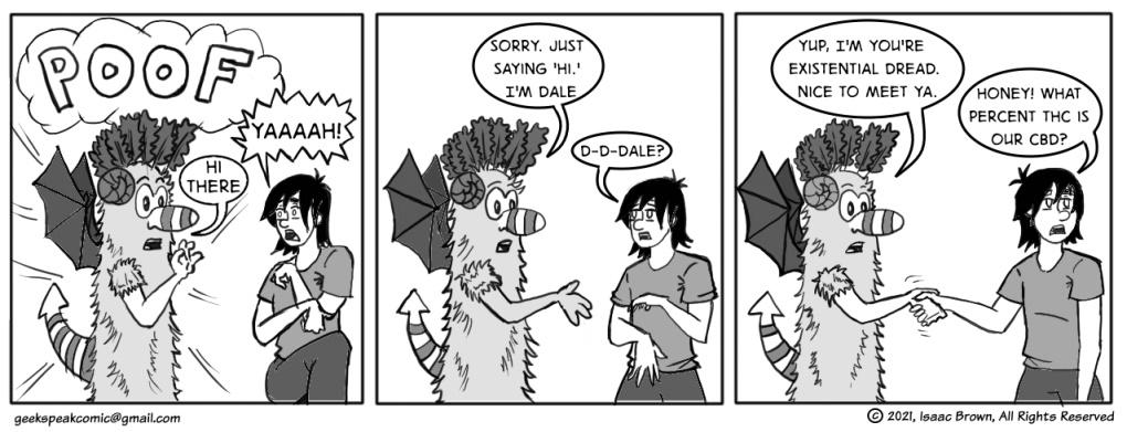 Geek Speaking of Existential Dale Guards